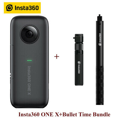 Insta360 ONE X 360 Panoramic Camera For iPhone & Android+Bullet Time Bundle