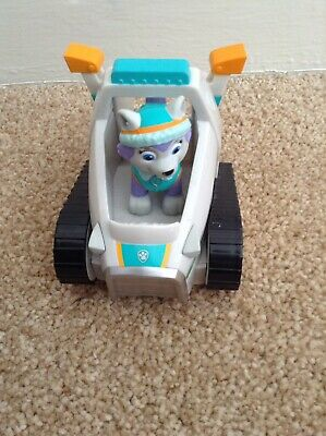 Paw Patrol Everest Rescue Vehicle Snowmobile & Pup.
