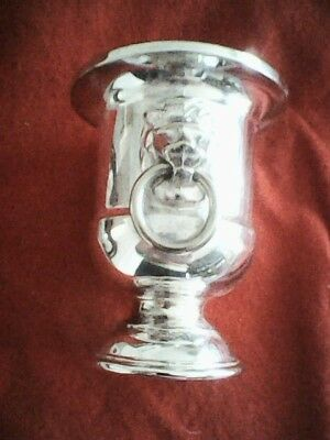 Vintage Viners of Sheffield - Silver Plated Small Urn  Lion Head   Handles