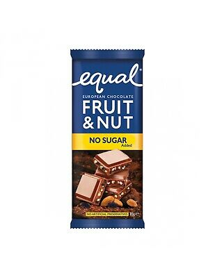 Equal Fruit & Nut Block 85g x 14