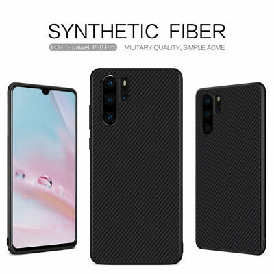 Nillkin Carbon Fiber Hard PC With Magnetic Shell Case Cover For Huawei P30 Pro