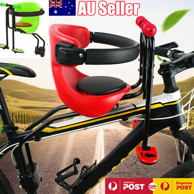Kids Bicycle Chair Carrier Baby Bike Safety Toddler Child Seat With Handrail AU