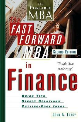 The Fast Forward MBA in Finance John A. Tracy