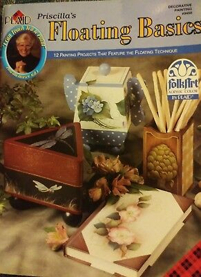 Priscilla's Floating Basics by Priscilla Hauser -  Decorative Painting #9488