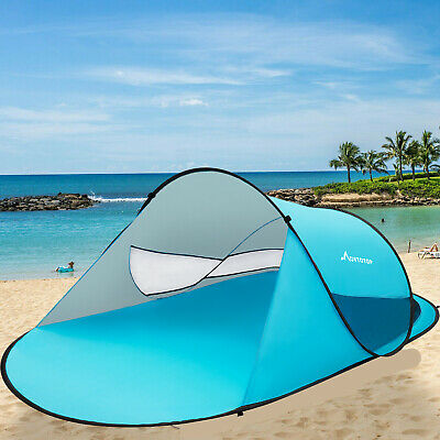 3-4 Persons/Man Family Auto Pop Up Camping Tent Hiking Instant Large Tent Picnic