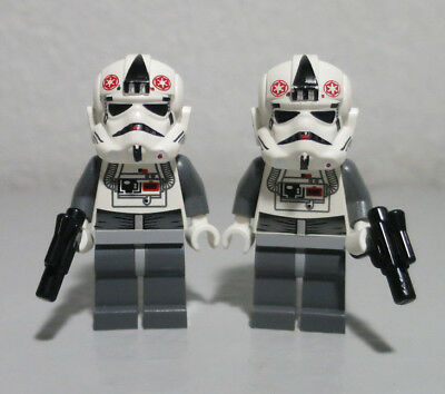 Lot 2 Lego STAR WARS minifigures AT-AT DRIVER Pilot Hoth battle 8084 minifigs 2L