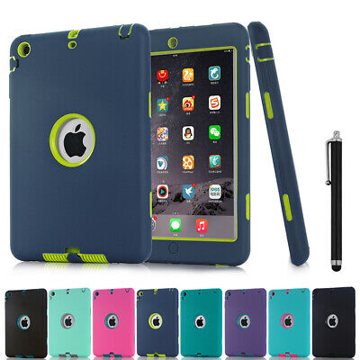 SHOCKPROOF HEAVY KID DUTY CASE COVER FOR IPAD 2/3/4 MINI 1 2 3 Air 2018 New 9.7""