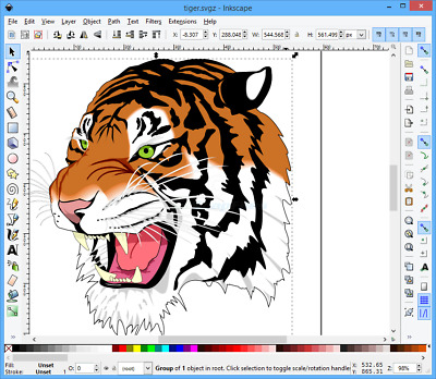 NEW CD Inkscape Professional Drawing Software vector