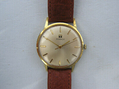 Vintage Gold Plated Tissot Gents Wristwatch