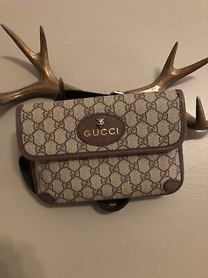 7eb2591b9878 Authentic Vintage GUCCI Waist Belt Bum Bag Fanny Pack - In Great Condition