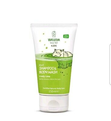 Weleda 2 in 1 shampoo and body wash...lively lime..150ml💕💖