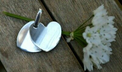 Greek Ilias Lalaounis Creation Sterling Silver Pendant Lovers' Hearts