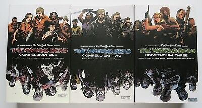 The Walking Dead Compendium One Two Three 1 2 & 3 Image Graphic Novel Comic Book