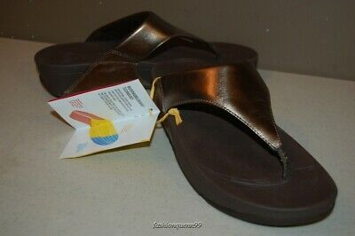 f58c74256 FITFLOP LULU THONG in Bronze US Sizes 5