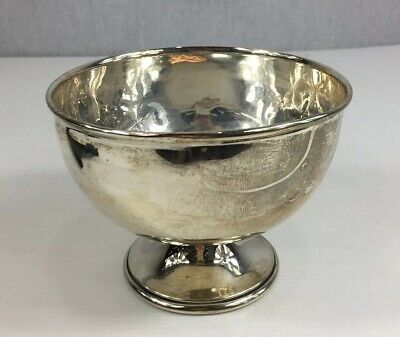 Antique 1903 Probably Charles Horner Solid Silver Rose Bowl A/F 10cm In Height