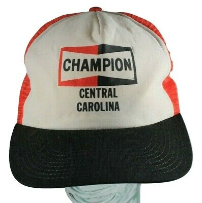 a648b02d043 CHAMPION SPARK PLUG Snapback Trucker Cap Baseball Patch black white ...