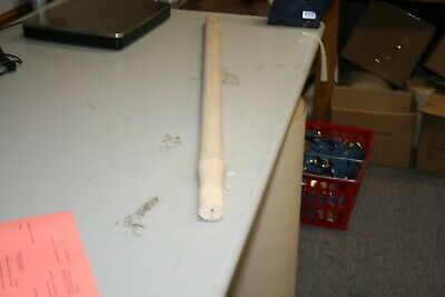 """Lot Of 2 36"""" Wooden Replacement Sledge Hammer Handles+Wedges"""