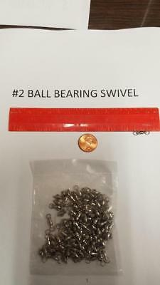 ball bearing snap swivel Size #1  or Size #3         Quan of  100