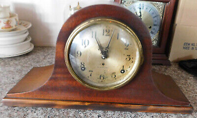 Vintage Seth Thomas Sentinel #1  Eight-Day Mantel Shelf Clock