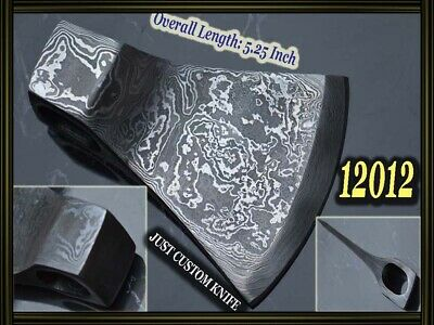 """5.25""""Custom made Damascus steel tomahawk hatchet axes for making suppliers 12012"""