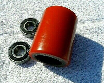Brand New Pallet Jack Poly Load Wheels With Bearings - each