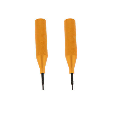 2Pieces Golden Car ECU Cover Extractor Computer Removal Opening Tool