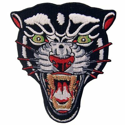 Embroidered Patches Iron Sew On Patches transfers Badges appliques Panther 483R