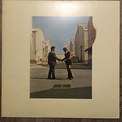 Pink Floyd / Wish You Were Here / Japan issue 25AP1258 w/poster, postcard insert