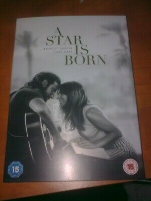 A Star is Born 2018 (DVD) Bradley Cooper, Lady Gaga, Watched twice. Dust Jacket