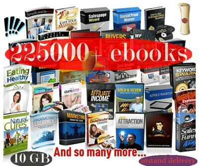 255000 eBooks Package Collection Pdf Format M Resell Rights Free shipping