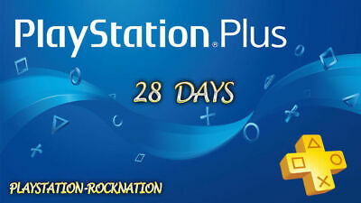 PS PLUS 28 DAYS - PS4 - PS3 - PS Vita PLAYSTATION (NO CODE)