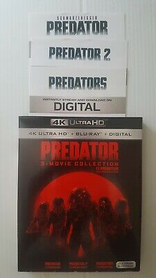 Predator 3 Movie Collection Digital HD Only 4k/ Bluray *CANADA ONLY*