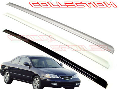 Painted Black Trunk Lip Spoiler R For Acura CL YA4 Coupe 01-03 Gen 2