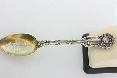 Whiting Mfg Co Sterling Silver Los Angeles Courthouse Souvenir Spoon