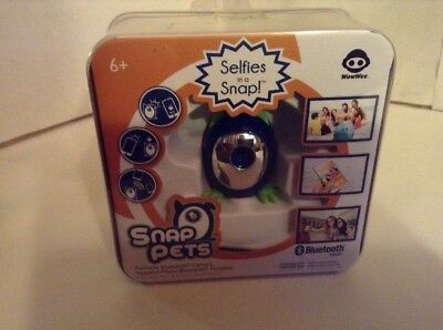 New SNAP PETS Selfie Portable Bluetooth Camera Selfies in a Snap Apple & Android