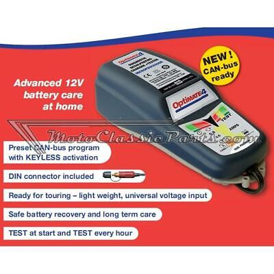 Charger OPTIMATE 4 VDE. 12V. DUAL PROGRAM CAN-bus EDITION ACCUMATE