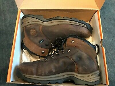 203145e773a TIMBERLAND MEN'S FLUME Mid ST Work Boots Brown TB0A1Q8V214 STEEL TOED  BOOTS!!!