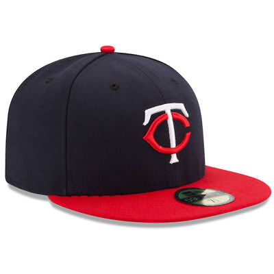 81af2a662 MINNESOTA TWINS 59FIFTY New Era Road Fitted Cap Hat Authentic New ...