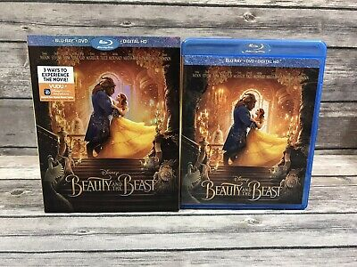 Beauty and the Beast (Blu-ray/DVD *No Digital) Live Action Emma Watson Disney