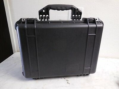 "Pelican Heavy Duty Watertight Large Case With Foam 20"" x 16"" x 7"" Black Storm"