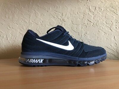 best website 1e80f cb688 NEW Nike Air Max 2017 Navy Blue Men s Running Shoes US 11