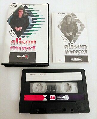 THE VERY BEST OF ALISON MOYET RARE INDONESIA UNOFFICIAL CASSETTE AMR RECORDS 80s