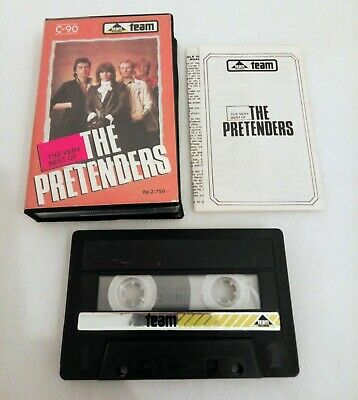 The Very Best Of The Pretenders Rare Unofficial Indonesia Cassette Team Records