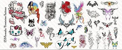1//12 Scale Custom Tattoos for action figures Angels /& Demons Waterslide Decals