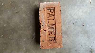 Antique brick stamped Palmer