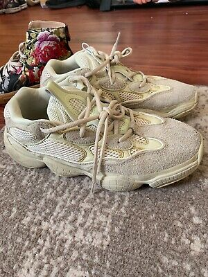 80974009fb54d ADIDAS YEEZY BOOST 500 SUPERMOON SUPER MOON Yellow DB2966 Size 10 ...