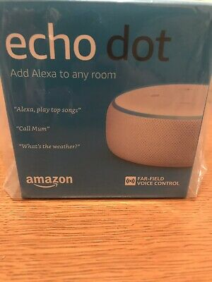 Amazon Echo Dot 3rd Generation Smart Speaker with Alexa - White