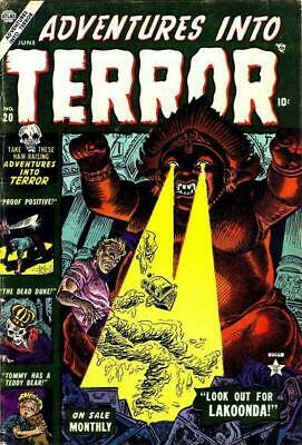 Adventures into Terror Golden Age (1950-1954) comic collection on DVD Rom