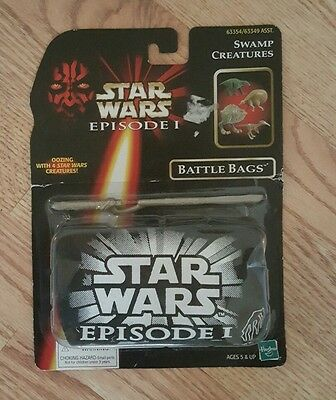 1998 Star Wars Episode 1 Sea Creatures Battle Bags B100 MIP Factory Sealed