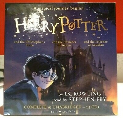 Harry Potter Books Collection Audio Books 1-3(25 cd) new and factory sealed #10